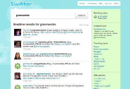 New Search bar on Twitter